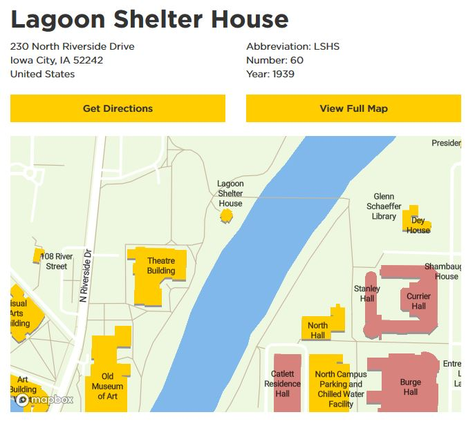 Lagoon Shelter House