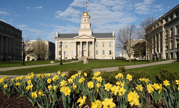 Spring at the University of Iowa
