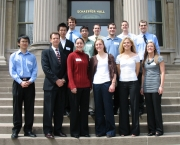 April 2009, Actuarial Science Students