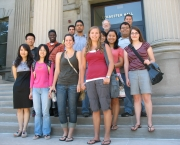 August 2011, New MS Statistics Students