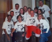 "December 2000 we made ""Bob's Gang"" t-shirts."
