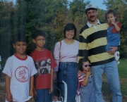 August 1999, Dale Zimmerman along with his wife, Bridget, and their children: Josh, Nathan, Abby, Bethany and Anna.