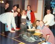 December 1995, Our graduate students put on a hilarious skit at our Holiday Party