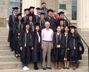 May 2014, Actuarial Science MS Graduates