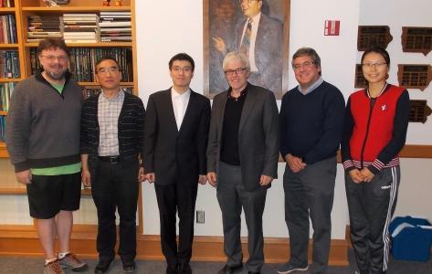 atthew Bognar, Jian Huang, Qiansheng Zhu, Josepth Lang, Joseph Cavanaugh and Aixin Tan.